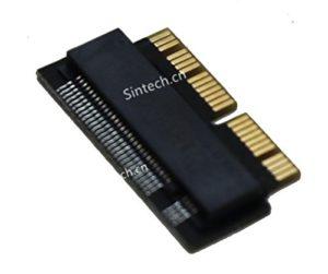 Sintech NGFF M.2NVMe Carte Adaptateur SSD pour Mise à Niveau 2013-2015MacBook