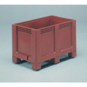 FD PALLET BOX SOLID SIDE BASE 2 RUNNERS