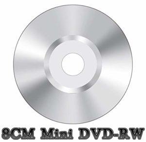 Lot de 100 Mini DVD-RW Vierges 8 cm pour caméscope Argenté (4 x 30 Min 1,4 Go)