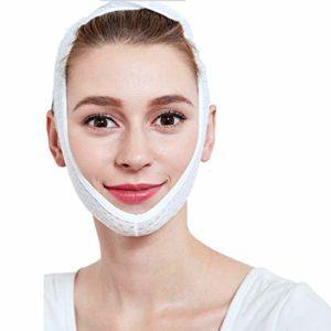 Peanutaoc Visage à la Mode Minceur Masque Lifting Minceur Cheek Masque Visage Bandage Ceinture Sangle Visage Minceur Ceinture Menton Lift Up