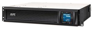 APC Smart-UPS SMC-SmartConnect – SMC1500I-2UC – Onduleur 1500VA (Montage en Rack 2U, Cloud monitoring, 4 prises IEC-C13)