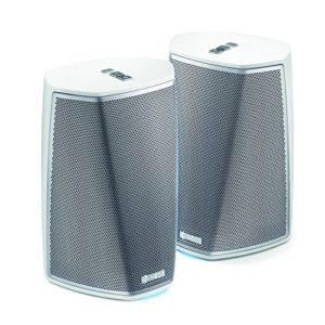 Pack Duo Heos HS2 by Denon Enceinte Multiroom, sans fil, Spotify Connect, NAS, Wifi, USB, Aux-in, Bluetooth – Blanc