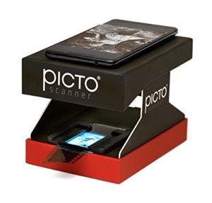 PictoScanner   Scanner de Négatifs et Diapositives 35mm   Utilise Uniquement Votre Smartphone – Pas d'Ordinateur requis   Convertit Vos Négatifs (N&B et Couleur) et Diapositives en Photos Numériques