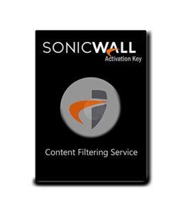 SONICWALL   01-SSC-0825   Service DE Filtre DE CONTENANCE Premium Edition pour SUPERMASSIVE 9800 (5 Ans)