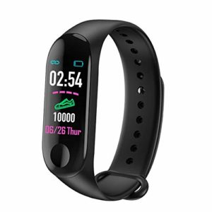 YOUQING Montre Intelligente Sport étanche Bluetooth Bracelet à Puce Bracelet avec fréquence Cardiaque Notification Message Moniteur pédomètre Bracelet