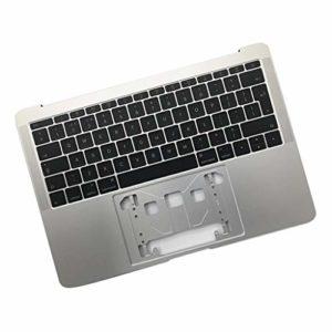B Baosity Clavier Coque Supérieur QWERTY pour Macbook Pro Retina 13 Pouces Série A1708 2016 2017