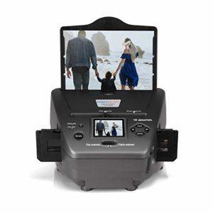 Film Scanner avec 2,4» Écran, 16 MP Film Photo Numériseur Combo Multifonction de Photos Scanner pour Cartes de visites, diapos, négatifs vers Le numérique
