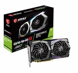 MSI NVIDIA GeForce GTX 1660 Super Gaming X Carte Graphique 6 Go GDDR6, 1830 Hz, RGB Mystic Light, 3 x DisplayPort, HDMI, Dual Fan Cooling System