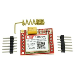 Optimus Electric SIM800L Quad-Band GSM GPRS Module with PCB Antenna from
