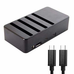 USB4 Thunderbolt 3 à 4 SATA 6Gbps HDD SSD Hard Disk Raid Docking Convert Case Cartridge