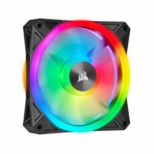 Corsair iCUE QL Series, QL120 RGB, ventilateur LED RGB 120 mm, Simple Pack