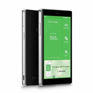GlocalMe G4 Pro[2020 Nouvelle Version] Routeur 4G Mobile avec 1Go Données Globales,4G Modem Pocket WiFi Hotspot Portable(Noir)