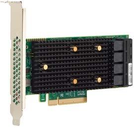 LSI Logic Carte contrôleur 05-50031-02tri-Mode 9400-8i8e 16Port Ext. Bundles/S SAS/SATA PCI Express 3.1Vente au détail