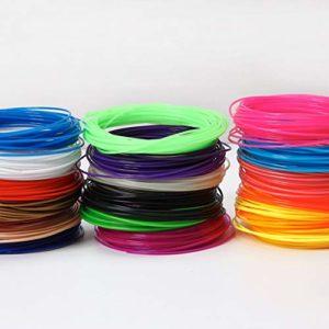 Momorain Le PLA de filament 3D de haute résistance durable fournit le matériel d'impression de filament d'imprimante de 1.75mm 3D pour l'imprimante 3D du stylo d'impression 3D