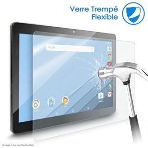 Protection d'écran Film en Verre Flexible Dureté 9H, pour Tablette Yotopt 10,1 pouces (Version 1),Dimensions tablette : 240x170mm ! [PAS COMPATIBLE AVEC YOTOPT VERSION 2 -dimensions 250x160mm]