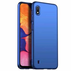 Ttimao Coque Samsung Galaxy Note 10 Pro Conception Simple Ultra Mince PC Hard Shell Anti-Chute Anti-Rayures Anti-Choc Coquille Surface Mate Housse Protection-Bleu