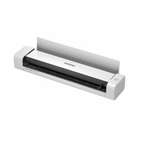 Brother DS-740D Scanner Mobile | A4 | Recto – Verso | Alimentation USB | 15 ppm | Couleur | Noir/Blanc | Scan to USB