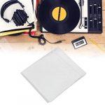 Accessoires de couverture de sac de rangement de boîtier de disque vinyle de 50 pouces 12 pouces, matière plastique, support pour la réutilisation, adapté à tous les disques de 12 pouces ou plus petit