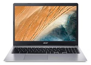Acer Chromebook CB315-3H-C2HN Ordinateur portable 15.6″ HD (Celeron N4000, 4 Go de RAM, 32 Go eMMC, UHD Graphics 600, Chrome OS)