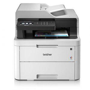 Brother MFC-L3730CDN Imprimante Multifonctions 4 en 1 Laser | Couleur | Silencieuse 45db | Impression Recto-Verso | Ethernet