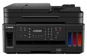 Canon Pixma G7050 Megatank Imprimante Multifonction USB Wi-FI Scan, Copie Noir