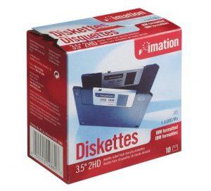 Disquette 3.5 Dshd 10pk