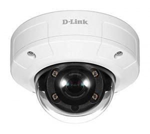 D-Link DCS-4605EV Vigilance. Caméra Dome PoE 5 Megapixel Extérieure anti vandale – IP66 – IK10 – H.265 HEVC, H.264, MJPEG – vision de nuit 20 mètres (smart IR)