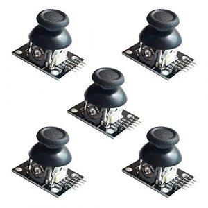 Electrely PS2 Joystick, Game Controller XY Deux Axes Joystick Breakout Module pour Arduino