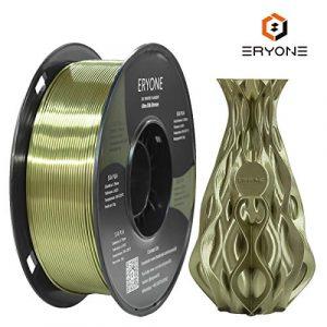 Eryone Ultra Silk PLA,1.75mm PLA Filament,3D Printing Filament PLA for 3D Printer and 3D Pen, 1kg 1 Roll (Bronze)