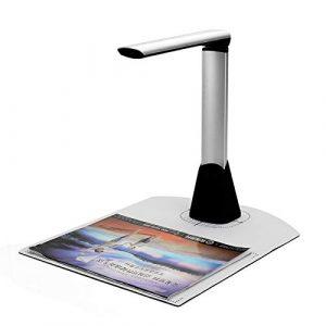 For shoppingchain Portable A4 Document Scanner Book Scanner Réglable Haute Vitesse USB Livre Image Caméra 10 Méga-Pixel HD Haute Définition A4 A5 A6