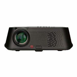 GSPURS Projecteur Domestique, projecteur de Film, vidéoprojecteur, Grand écran 1080p, projecteur Domestique Wi-FI