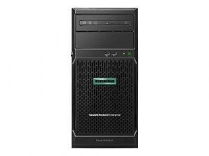 Hewlett Packard Enterprise ProLiant ML30 Gen10 Serveur 3.3 GHz Intel® Xeon® E-2124 Tower (4U) 350 W – Serveurs (3.3 GHz, E-2124, 8 GB, DDR4-SDRAM, 350 W, Tower (4U))