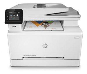 HP Color Laserjet Pro M283fdw Imprimante Laser Couleur Multifonction (Impression, numérisation, Copie, télécopie, Wi-FI, Duplex, Airprint) Blanc
