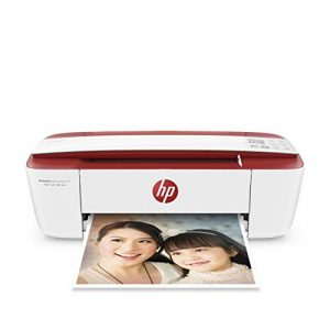 HP Deskjet 3764 Imprimante Multifonction Jet d'encre Couleur (8 ppm, 4800 x 1200 PPP, WiFi, Mobile, USB) Instant Ink – Imprimez gratuitement jusqu'à 15 pages / mois
