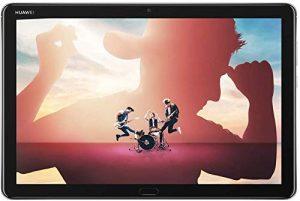 HUAWEI MediaPad M5 lite 10 Wi-Fi Tablette Tactile 10.1″ Gris (64Go, 4Go de RAM, Android 8.0, Bluetooth, Quatre haut-parleurs)