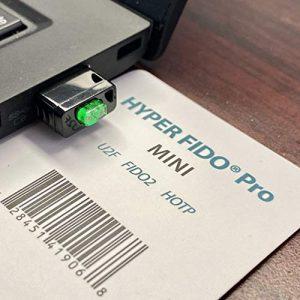Hyperfido Pro Mini U2F/FIDO2/HOTP Clé de sécurité