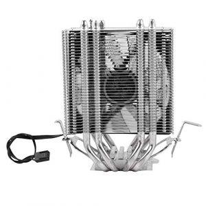Ichiias CPU Fan 4 Heat Pipe CPU Cooler Heat Sink