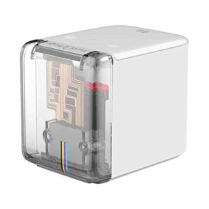 Imprimante couleur mobile Imprimante portative portable Prise en charge WIFI USB Connexion 6 heures de temps de travail – Blanc
