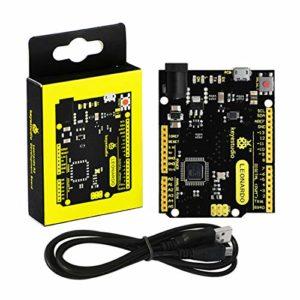KEYESTUDIO Contrôleur pour Arduino Starter Kit Leonardo R3 atmega32u4