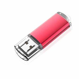 KOOTION Clef USB 32 Go à Capuchon Clé USB 2.0 32 GB USB Memory Stick 32 Giga Pas Cher Cle USB Porte Clé Disque U Pendrive Stockage Externe Mémoire