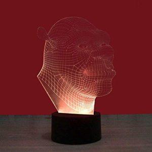 L.TSA Nordic Modern Minimalist Personality Single Head Color Cement Aplique Europeo Creativo Macaron Aplique de Hierro forjado (Diseño: 9)