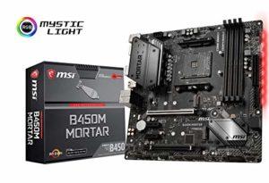 MSI B450M Mortar Carte mère AMD Socket AM4