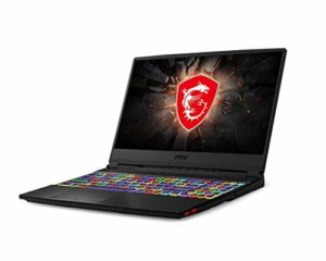 MSI GE65 Raider 9SF-079ES – Ordinateur Portable 15,6″ FHD (Coffeelake Refresh i9-9880H+HM370, 64 Go de RAM, SSD de 2 to, GeForce RTX 2070, Windows 10 Pro) Noir – Clavier QWERTY Espagnol