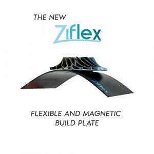 Nouveau Ziflex – Plateforme d'impression 3D flexible et magnétique Haute température – Forte adhérence et retrait simplifié (310 * 310mm / CR10)