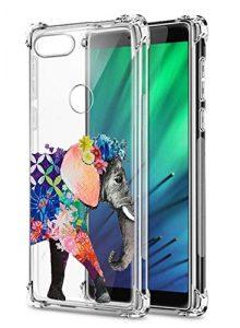 Oihxse Transparent Silicone Mignon Case Compatible pour Xiaomi Redmi Note 7/Note 7 Pro Coque TPU Souple Ultra Mince Housse Clear Crystal Design Motif Anti-Scrach Protection Etui Bumper (A12)