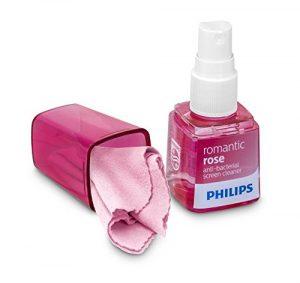 Philips SVC1119R/19 nettoyant d'écran anti bacterien parfumé pour Smartphone/Tablette/Ordinateur