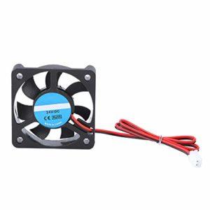 Pièce accessoire pour imprimante 3D, ventilateur de refroidissement, ventilateur de refroidissement DIY 5010, 2 broches 24V 4000-6500 tr/min 8-14CFM, avec une forte stabilité et une longue durée de vi