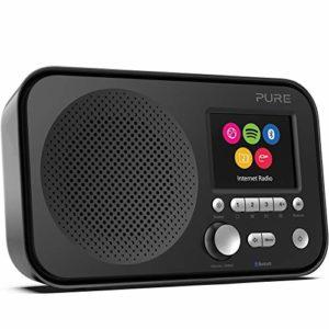 Pure Elan IR5 – Radio Internet avec Bluetooth et Spotify Connect, Noir