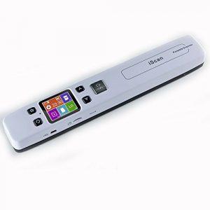 Scanner Portable High Speed Handheld Scanner A4 Scanner Taille Document 1050 DPI