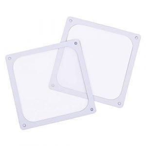 SilverStone SST-FF143W (2 Pack)- 140mm Ultra Fine Fan Dust Filter, Magnet, white